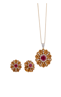 Diamond Pendent Set 5 product image